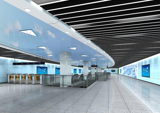合肥地铁4号线五大特色主题站点亮相