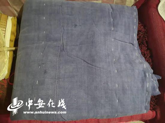 1954年的老粗布褥子