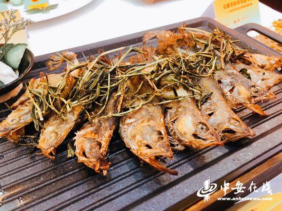 大赛作品——九华茶香鱼。