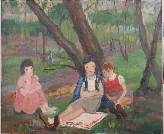 """""""春之歌――潘玉良在巴黎""""展即将在安徽博物院开展"""