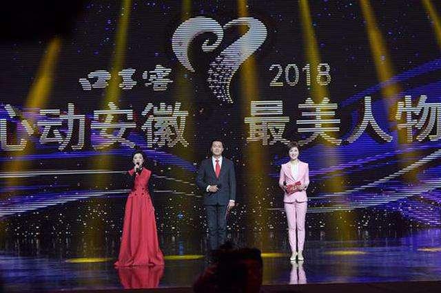 """2018""""心动安徽·最美人物""""颁奖典礼成功录制"""