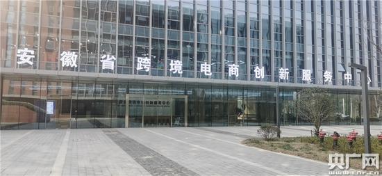 安徽省跨境电商创新服务中心(央广网发 蜀山区委宣传部供图)