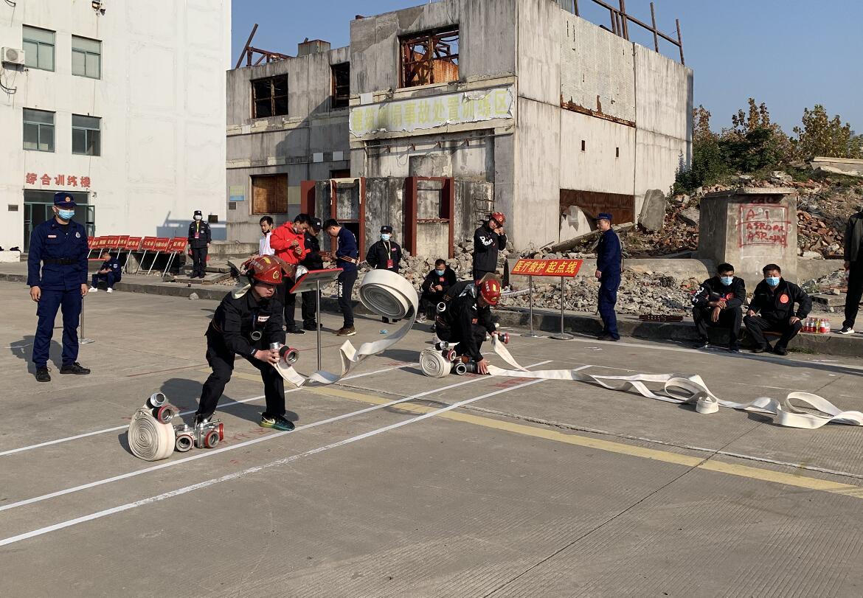 消防技能比武 安徽博物院为何派员参赛?