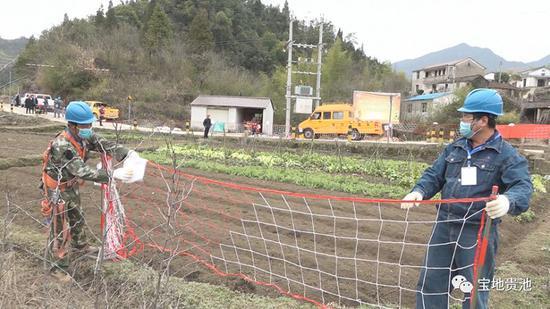首个农网改造项目复工 事关贵池这个产业长远发展