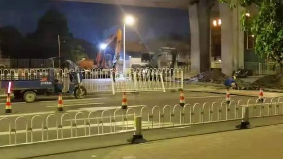 合肥地铁8号线被诉深夜施工扰民