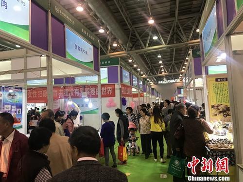 资料图:安徽养老产业博览会。中新社记者 周乾宪 摄