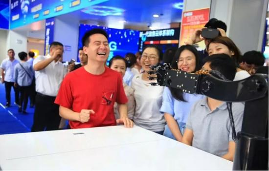 安徽首个向公众客户开放的5G体验厅正式揭幕