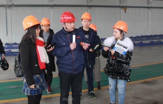媒体采访安徽华中天力铝业有限公司