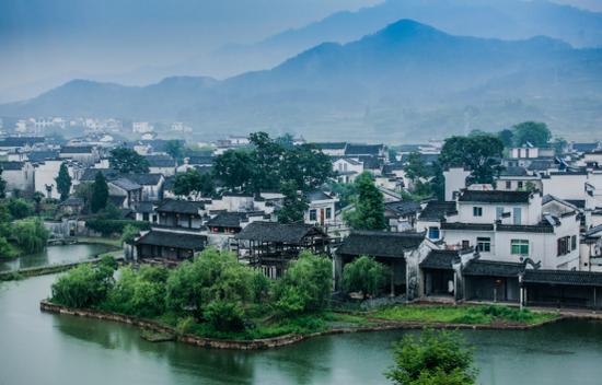 徽州区呈坎古村落(图片来源:安徽省文化和旅游厅)
