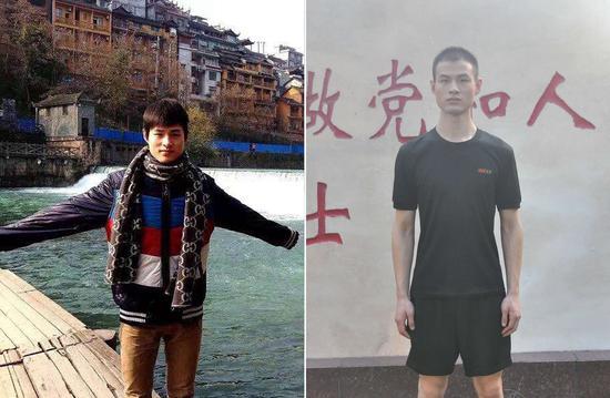 黄鑫,2013年9月入伍,战士