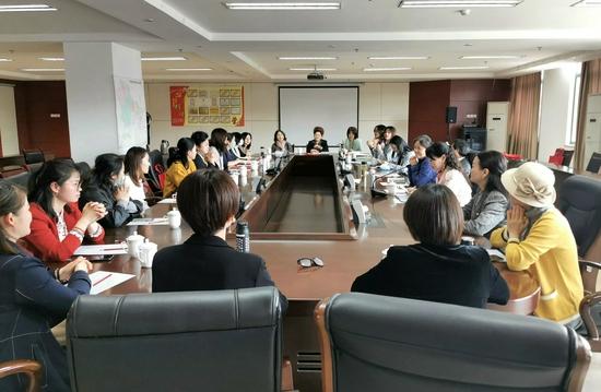 区妇联组织召开女企业家工作座谈会