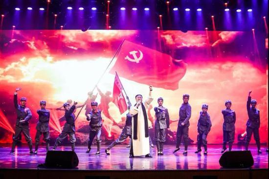 原创歌舞《风雷引》 演唱:国家一级演员董成