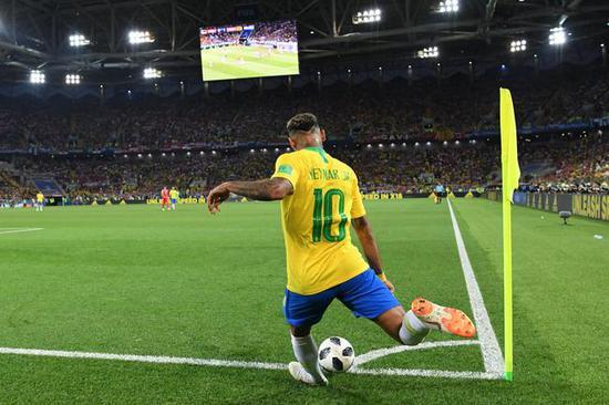 内马尔,巴西队冲击冠军的保障
