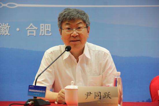 新任会长 奇瑞汽车股份有限公司董事长 尹同跃致辞