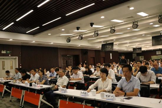 2018第六届安徽金融行业综合评选启动仪式现场