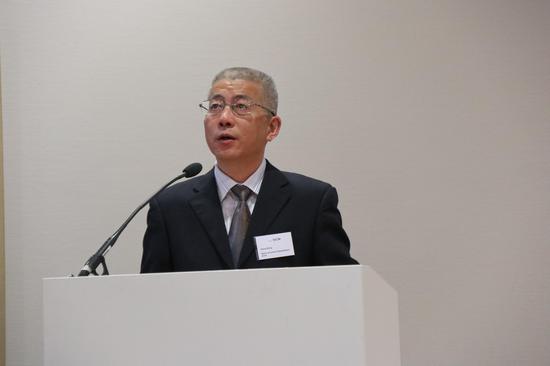 芜湖经济技术开发区副主任王翔 宣传推介芜湖经济技术开发区