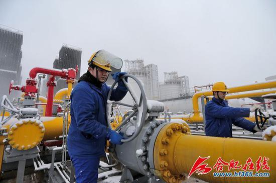 全力组织落实气源,保证管网供气压力稳定