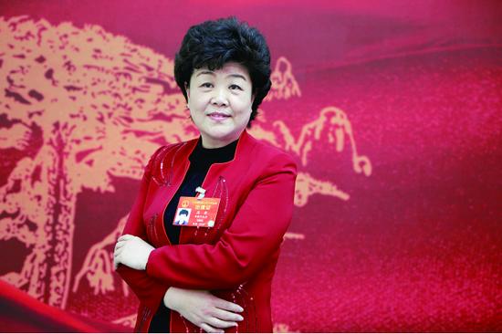 安徽省残联党组书记、理事长高莉