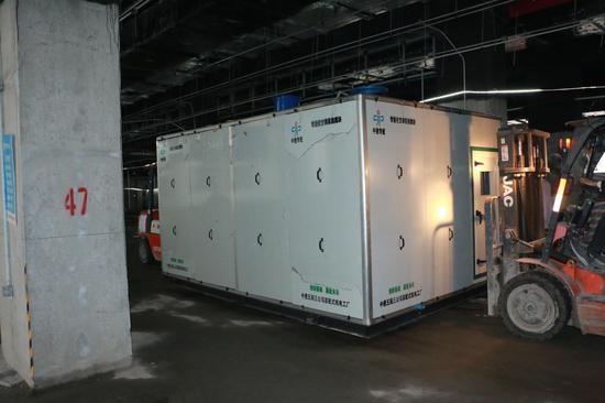 合肥地铁4号线首个智能化集成模块顺利安装