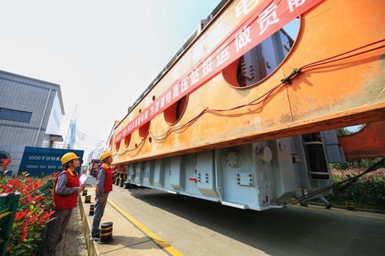 芜湖1000千伏变电站主变扩建工程进入关键节点