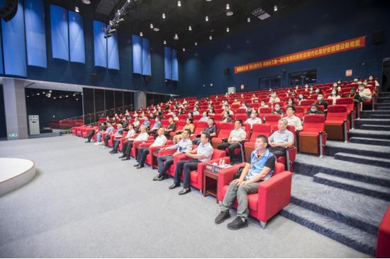 2021年长三角网络名人看安徽活动总结会现场