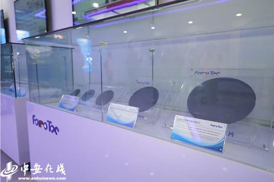 安徽富乐德长江半导体股份有限公司生产的半导体单晶硅抛光片