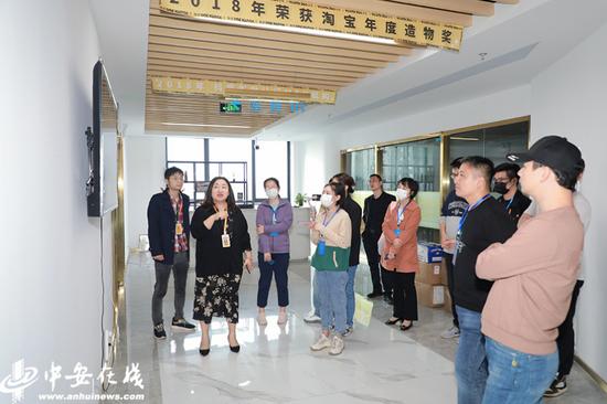 记者采访铜陵彦祖文化传播有限公司