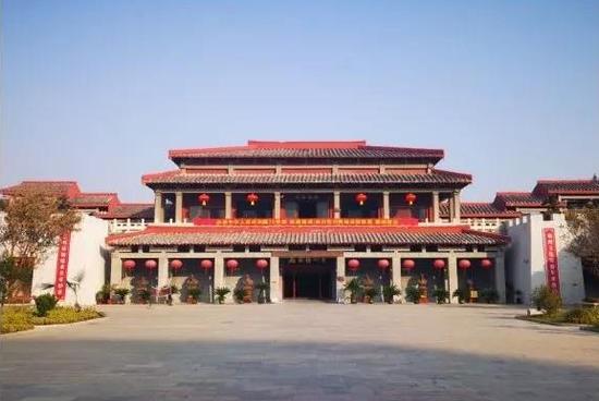 谯城区亳州博物馆(图源:安徽文旅公众号)