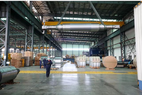 安徽美信铝业有限公司恢复生产黄鹤鸣摄