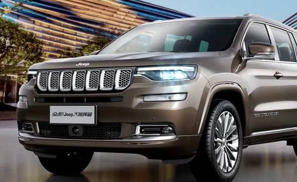 图集|Jeep全新7座SUV年中上市