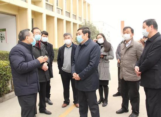 滁州市长深入滁州经开区调研疫情