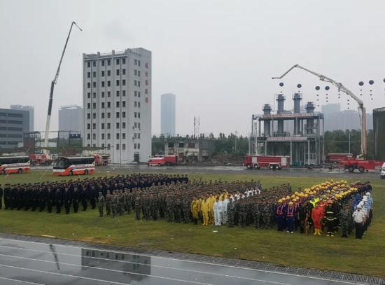 """""""皖盾-2020""""安徽省人民防空综合演习在合肥举行"""