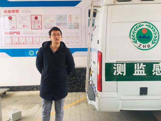 媒体采访安徽宝龙环保科技有限公司
