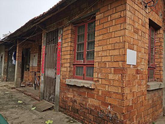 劳荣枝母亲租住的房屋。澎湃新闻记者 朱远祥 摄