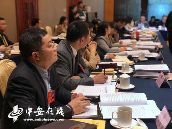 在1月13日省人大的分组审议中,铜陵团的讨论聚焦在了技术人才培养上。