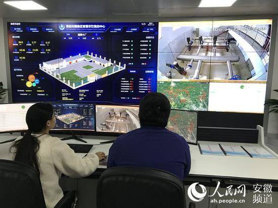 颍泉区农村饮用水安全中控平台 李阔 摄