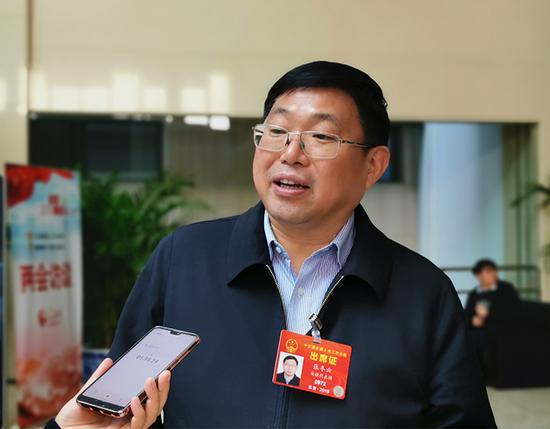 全国人大代表、安徽省宣城市市长张冬云