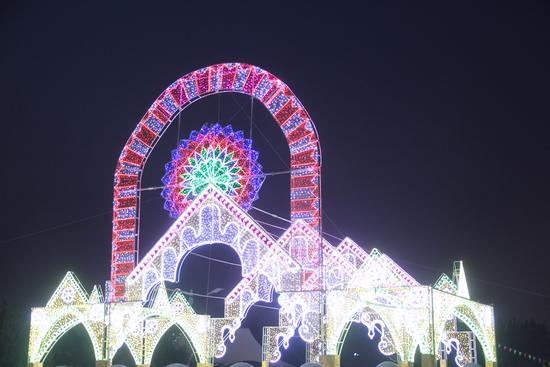 中国梦幸福城首届大型国际艺术灯光秀将于5