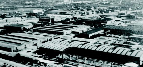 合力老厂区鸟瞰图