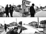 芜湖三男子拦车索喜烟 婚车启动撞人撞车