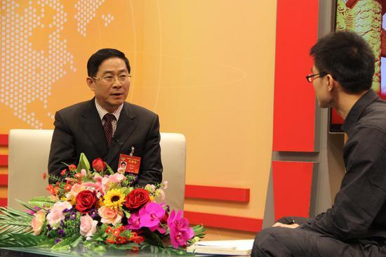 两会访谈安徽省政协副主席李修松