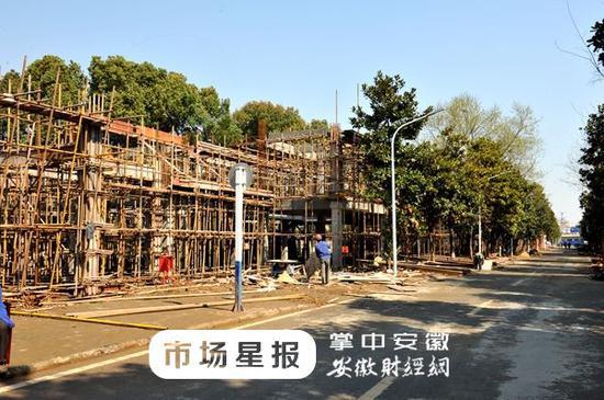 合肥大蜀山半边街4月底竣工10月开街