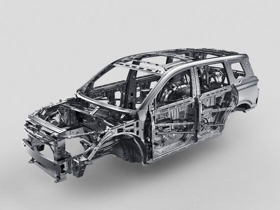 GAC 2.0高强度钢安全车身