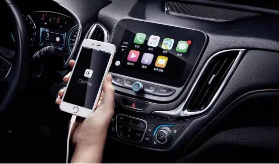 雪佛兰探界者搭载Apple CarPlay车载互联系统