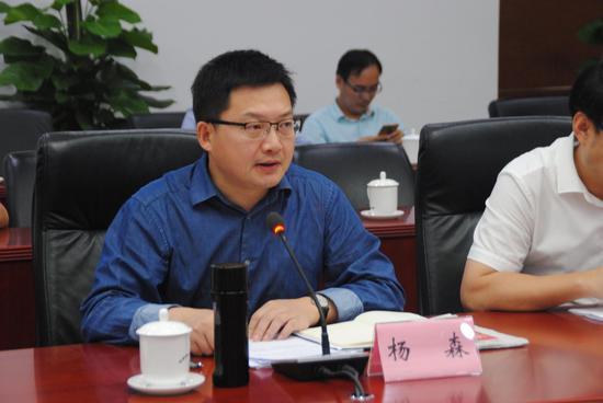 合肥市委宣传部副部长杨森