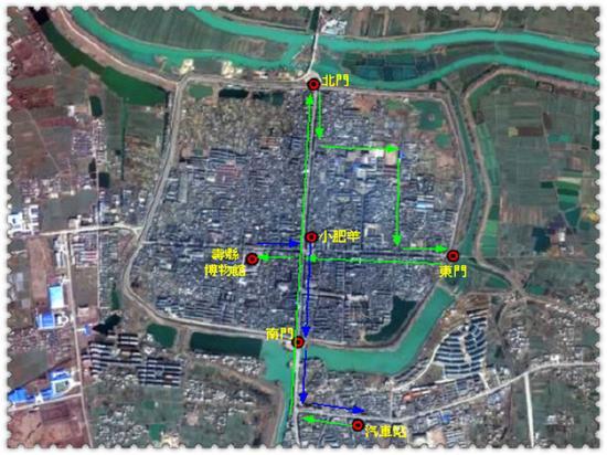 九百年历史  寿县古城墙