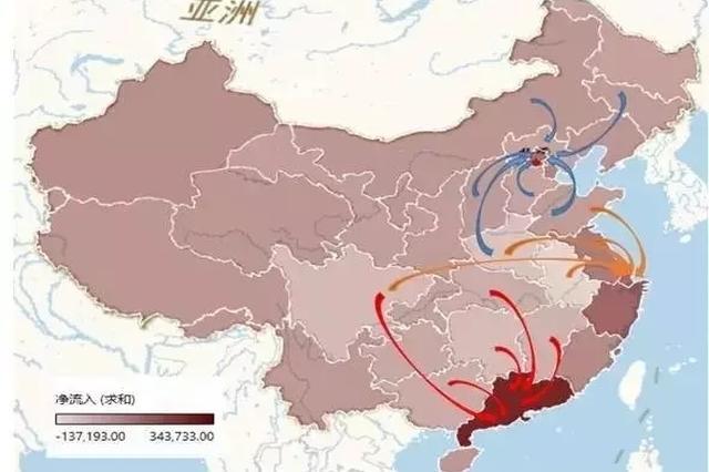 简直扎心 安徽人口净流出全国第一