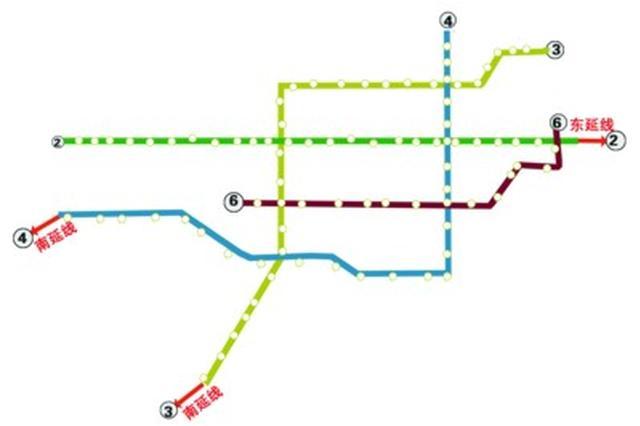 """合肥轨道2、3、4号线将建""""加长版""""延长线"""