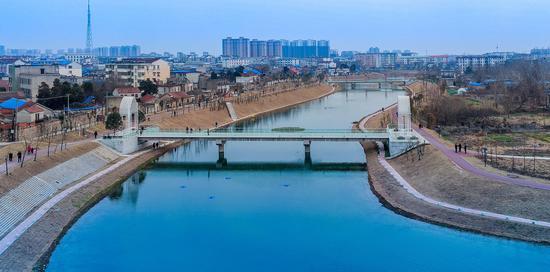 经过治理改造后南城河
