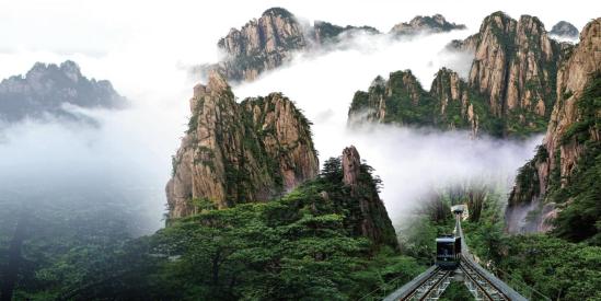 黄山风景区西海大峡谷(图源:黄山市文化和旅游局)